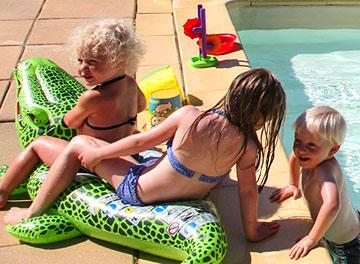 Camping Sarlat piscine chauffée Dordogne Périgord