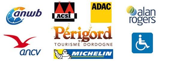 Camping Sarlat ANWB, ACSI, ADAC, ANCV, Alna Rogers en Dordogne Périgord