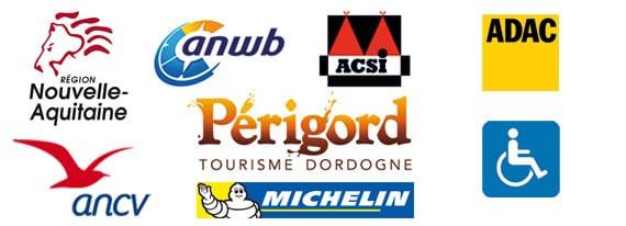 Camping Sarlat ANWB, ACSI, ADAC, ANCV, Nouvelle Aquitaine, Dordogne Périgord