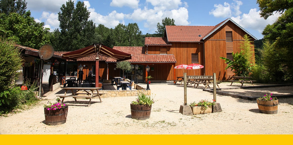 Accueil du camping les 2 vallees