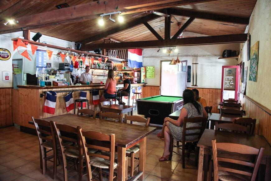 Bar du camping les 2 vallées