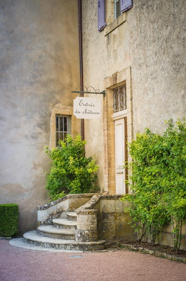 Entrée du château de marqueyssac